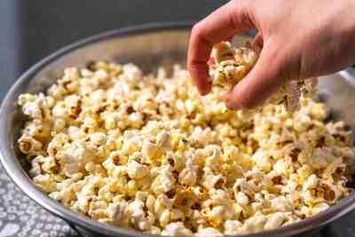 Rosemary Truffle Popcorn   Sip and Spice