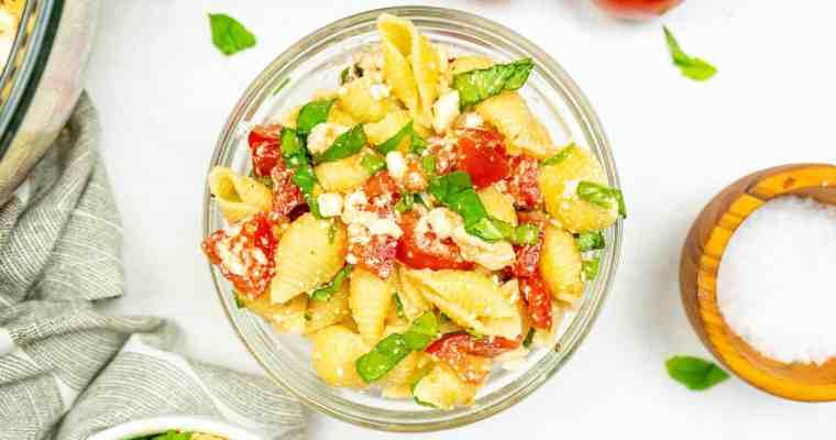 Copycat Zoe's Kitchen Pasta Salad