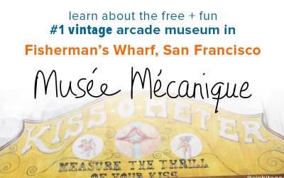 Must see: Musée Mécanique in Fisherman's Wharf, SF: vintage arcade gem