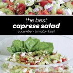 best caprese salad recipe pin