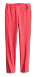 Tribal Fia Front Pocket Trousers in Coral pants
