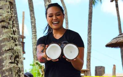 Inside the Maui Tropical Plantation Tour and The Mill House Restaurant