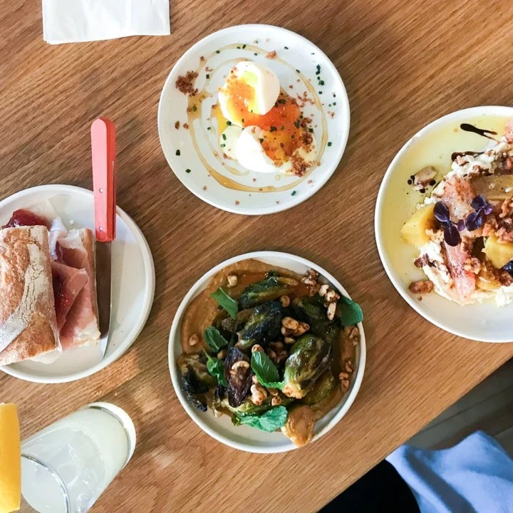four of the best lunch menu items at canard in SE portland