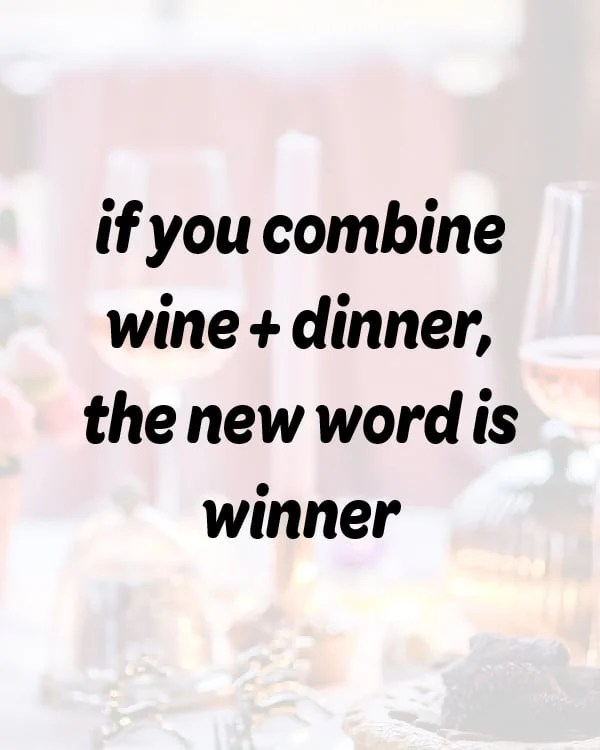 funny food quote about dinner