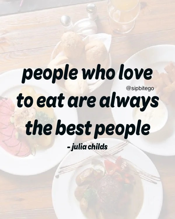 funny quote about eating