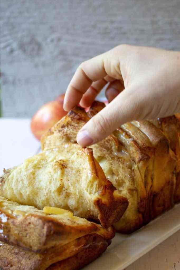 apple breakfast pull apart bread recipes