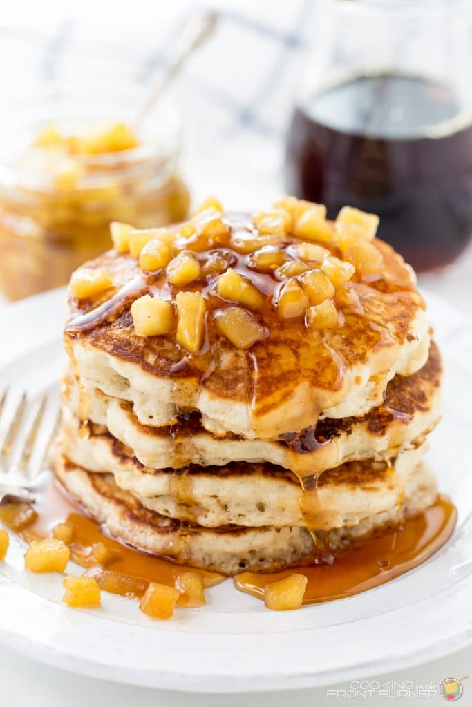 pancake with apple recipe