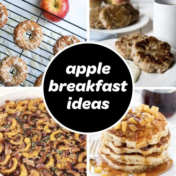 apple breakfast recipe ideas feature image