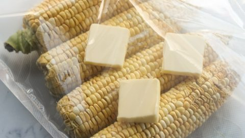 Butter Poached Sous Vide Corn On The Cob [+VIDEO]