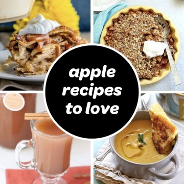 list of new apple recipes to try in the fall