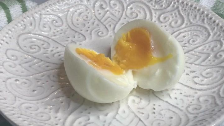 sous vide eggs soft boiled