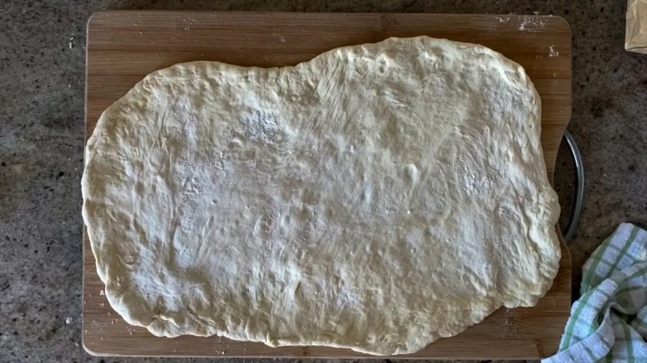 stretching whole foods dough for pizza