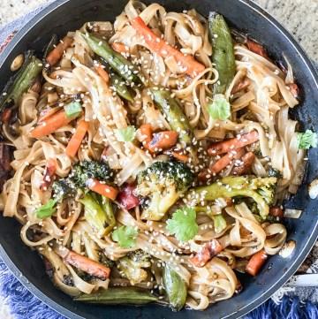 Simple Frozen Vegetable Stir Fry Recipe
