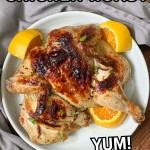 sous vide whole roast chicken recipe