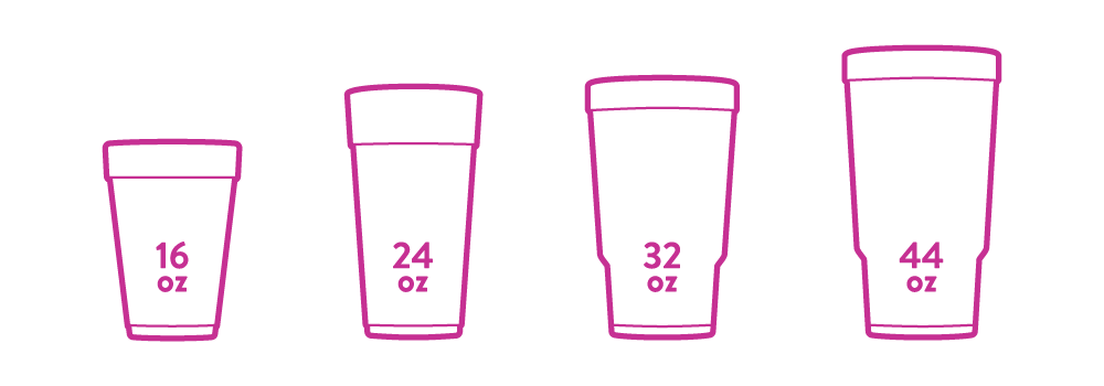 Cup Sizes