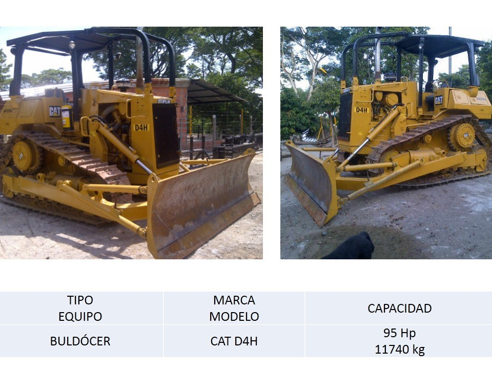 Bulldocer CAT D4H