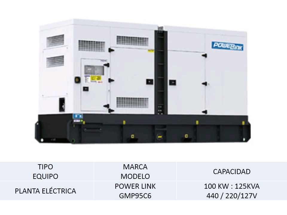 Planta Electrica POWER LINK