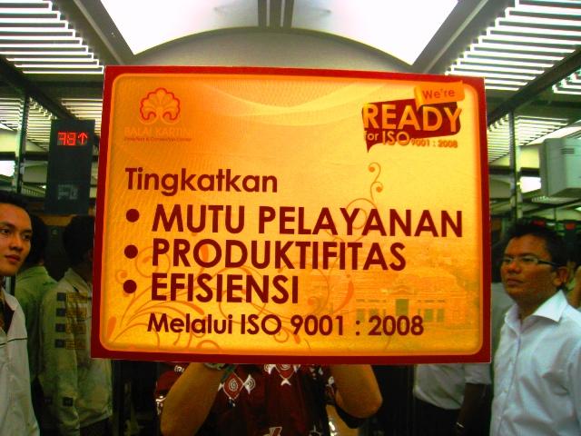 Pelayanan ISO 9001:2000