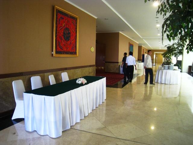 tempat registrasi ulang peserta