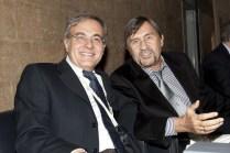 Il presidente e il presidente onorario della SIPNEI. Lazzari è stato rieletto all'unanimità dall'assemblea generale dei soci tenutasi il 29 ottobre, che ha anche rieletto all'unanimità Marina Risi vicepresidente