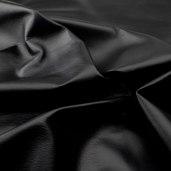 Lamb nappa black l6d190 - leather for garments