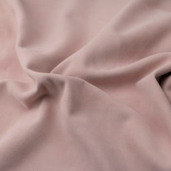 Silky suede rose Sipo l6r400s - leather for garments without lining