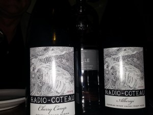 Radio Coteau Winemaker Dinner Scopa Healdsburg