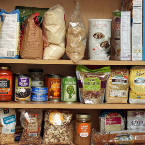 DON'T CLEAN UP; CLEAN OUT PANTRY
