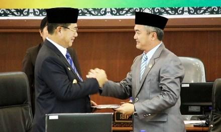 Penyampaian LKPJ Bupati Malinau Tahun Anggaran 2017