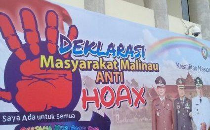 Deklarasi Masyarakat Kabupaten Malinau Anti HOAX