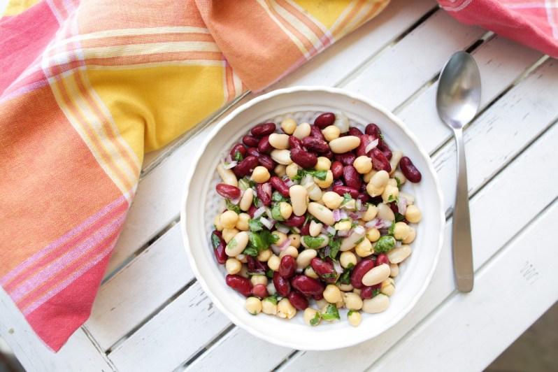 tone_it_up_nutrition_plan_three_bean_salad_healthy_recipe