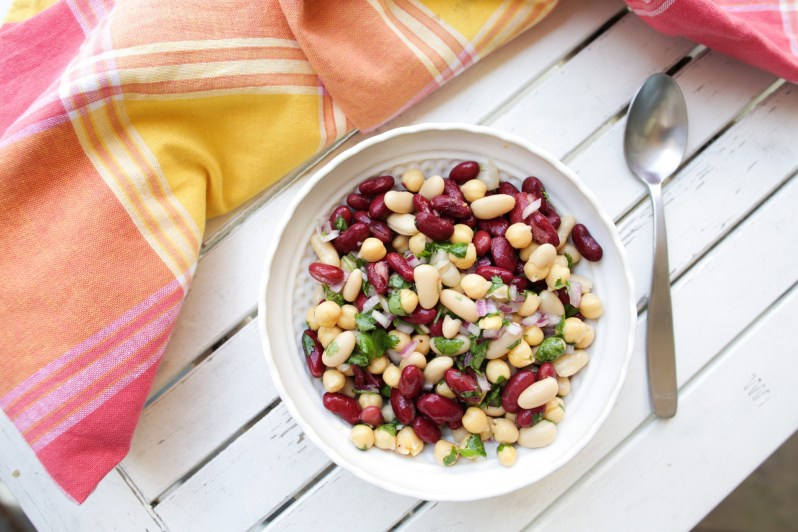 tone_it_up_nutrition_plan_three_bean_salad_healthy_recipe