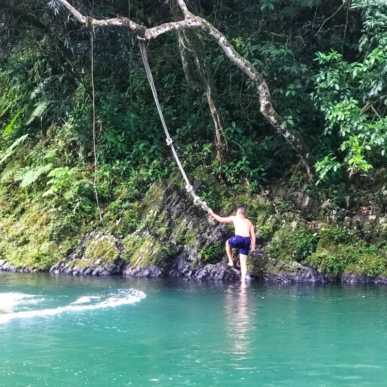 swimming-in-el-yunque-rainforest