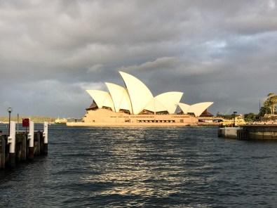Sydney Opera House Cloudy