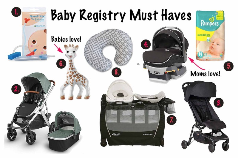 Baby Registry Must Haves 1