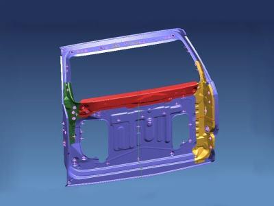 1.Medium size reinforcement plate