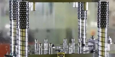 14. Precision metal press