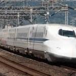 久々に乗った東海道新幹線
