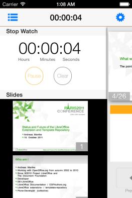 SIdebar on Slideshow page