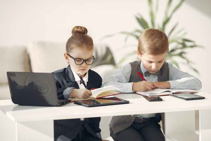 studious children