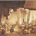 """Francesco Paolo Priolo, """"San Paolo predica nelle latomie di Siracusa"""" - (tra il 1856 ed il 1888)"""