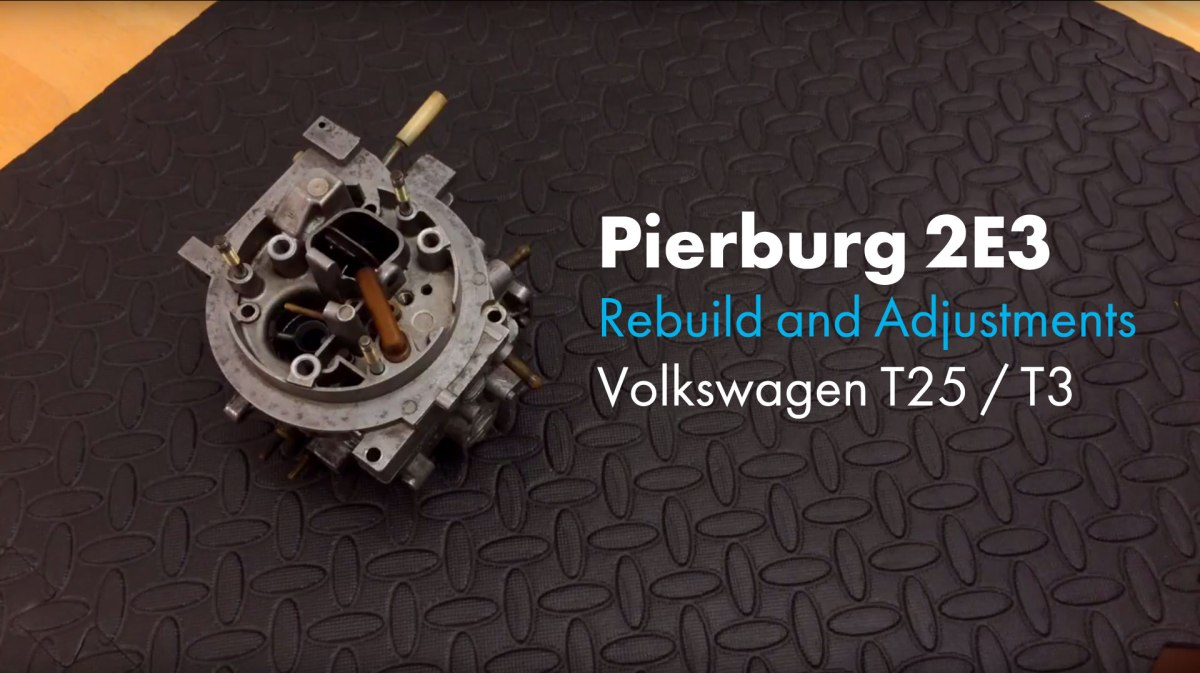 hight resolution of carburetor adjustment pierburg 2 3