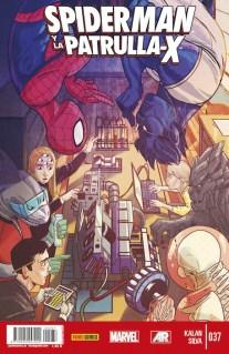 Spiderman y la patrulla