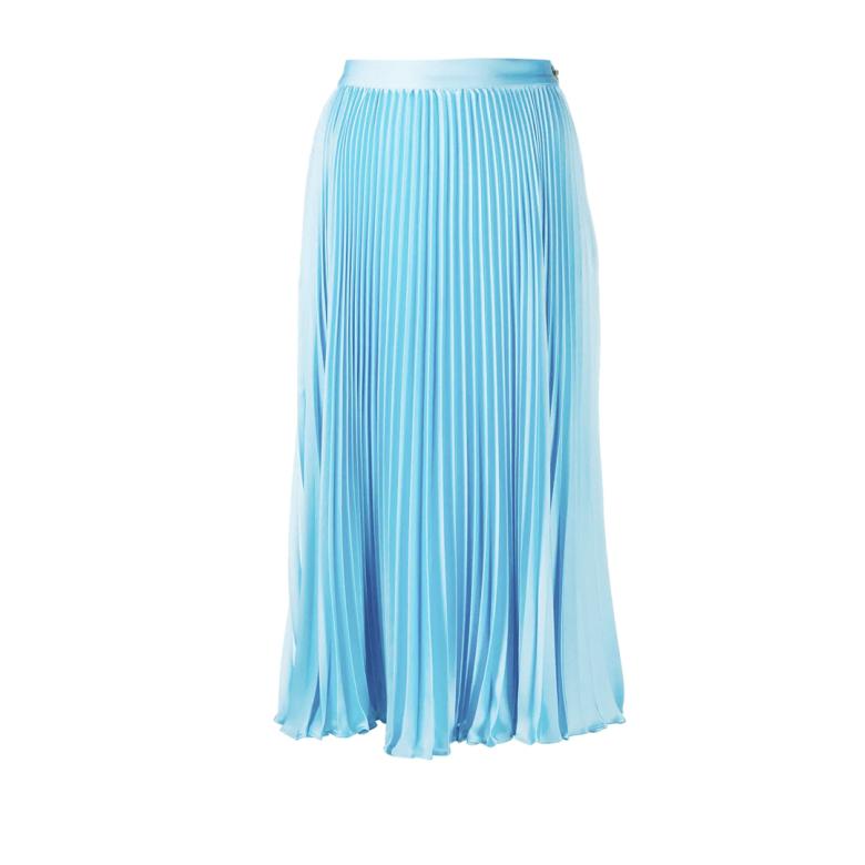 Versace pleated mid-length skirt