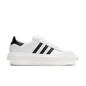 Adidas x Beyonce Superstar Platform Leather Sneakers