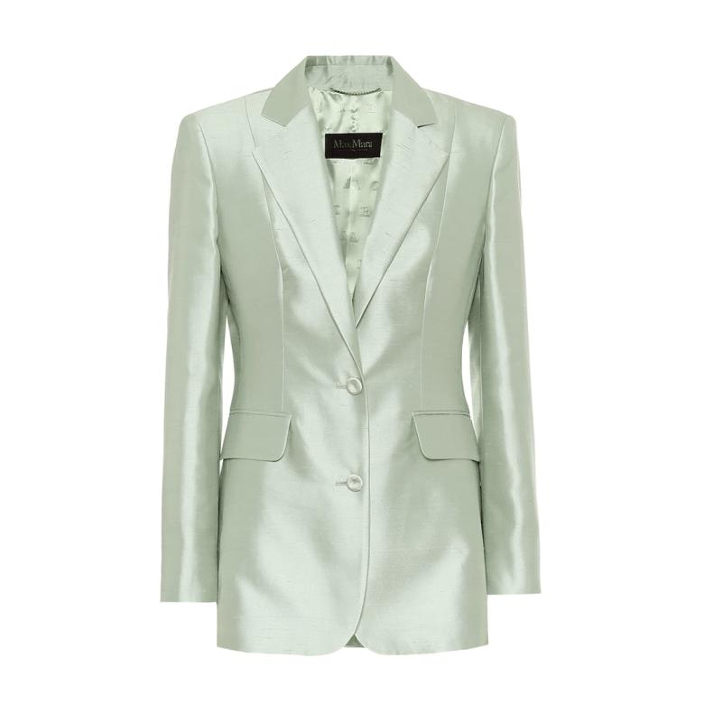 Omar cotton and silk blazer