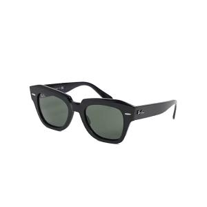 Ray-Ban womens square sunglasses in black