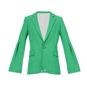 ROLAND MOURET Roback single-breasted crepe jacket