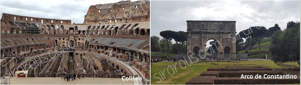 Coliseo Arco Constantino
