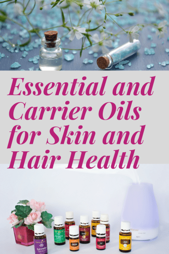 essential oils for hair health and skincare